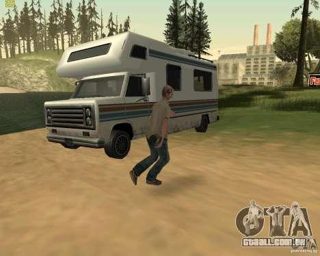 Festa da natureza para GTA San Andreas décimo tela