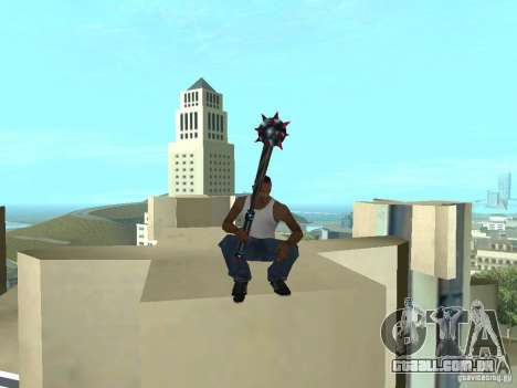 Weapons Pack para GTA San Andreas terceira tela