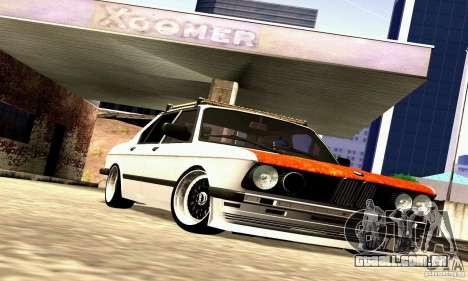 BMW E28 525e RatStyle No1 para GTA San Andreas vista interior