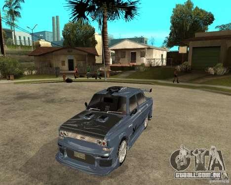 AZLK 2140 SX-sintonizado para GTA San Andreas