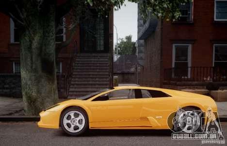 Lamborghini Murcielago para GTA 4 traseira esquerda vista