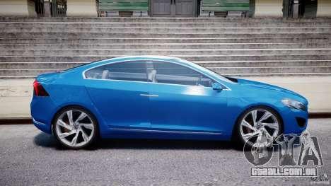 Volvo S60 Concept para GTA 4 vista interior