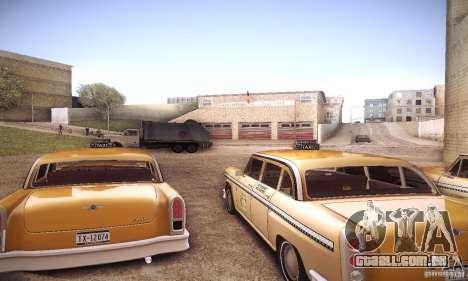 Cabbie HD para GTA San Andreas vista direita