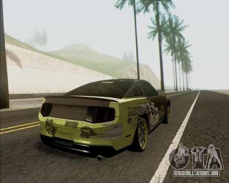 Ford Mustang Boss 302 para GTA San Andreas esquerda vista