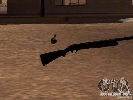 Remington 870 Action Express para GTA San Andreas segunda tela