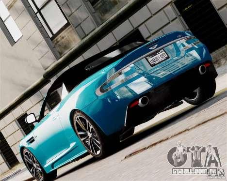 Aston Martin DBS Volante 2010 v1.5 Diamond para GTA 4 vista direita