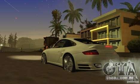 Color Correction para GTA San Andreas sexta tela