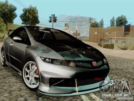 Honda Civic TypeR Mugen 2010 para GTA San Andreas interior