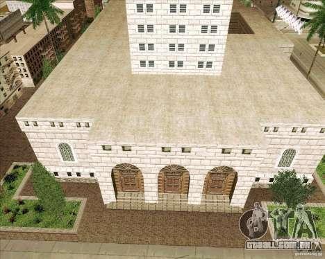 Los Santos City Hall para GTA San Andreas segunda tela