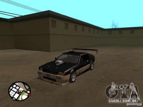 Novas peças para tuning para GTA San Andreas por diante tela