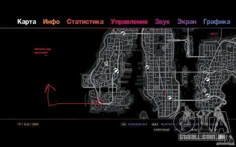 A rota para os preguiçosos para GTA 4 quinto tela