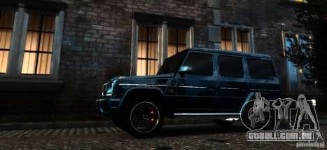 Mercedes-Benz G65 AMG [W463] 2012 para GTA 4 vista lateral