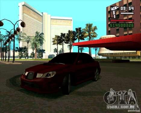 Subaru Impreza tuning para GTA San Andreas