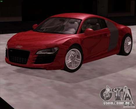 Audi R8 Production para GTA San Andreas