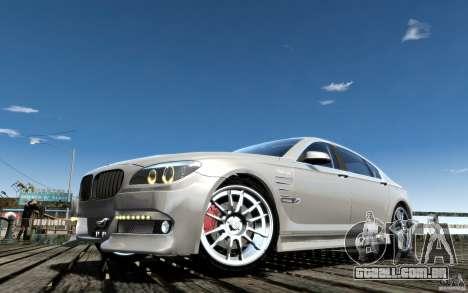 Telas de menu e arranque BMW HAMANN no GTA 4 para GTA San Andreas nono tela
