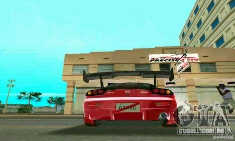 Mazda RX7 Charge-Speed para GTA Vice City vista traseira