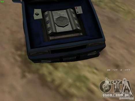 Willard Drift Style para GTA San Andreas vista traseira