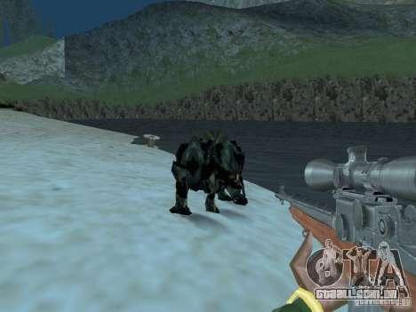 Monstros debaixo d'água para GTA San Andreas por diante tela