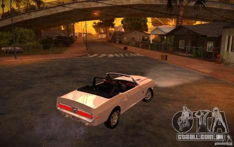 ENBSeries v. 1.0 por GAZelist para GTA San Andreas por diante tela