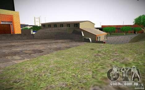 Departamento de fogo HD para GTA San Andreas quinto tela