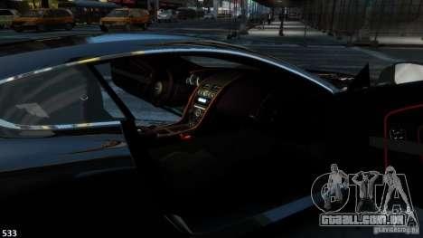 Aston Martin Virage 2012 v1.0 para GTA 4 vista direita
