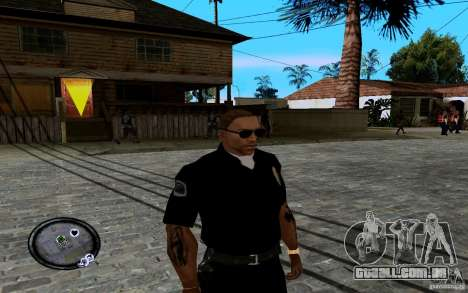 CJ novo para GTA San Andreas segunda tela