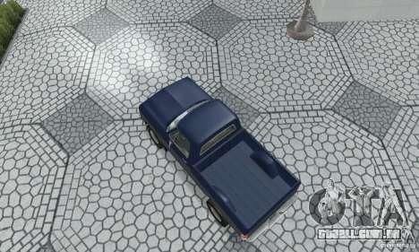 Dodge Prospector 1984 para GTA San Andreas traseira esquerda vista