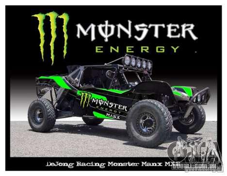 Tela de boot Monster Energy para GTA San Andreas