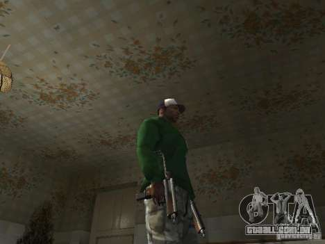Pak domésticos armas V2 para GTA San Andreas décimo tela