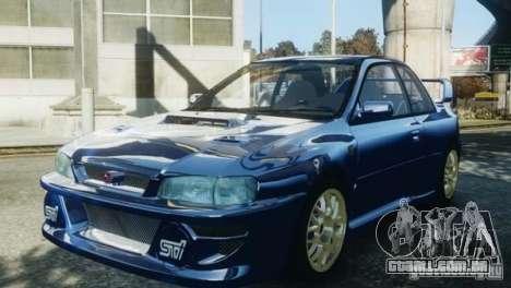 Subaru Impreza 22B 1998 para GTA 4 vista direita