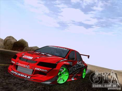 Downhill Drift para GTA San Andreas oitavo tela