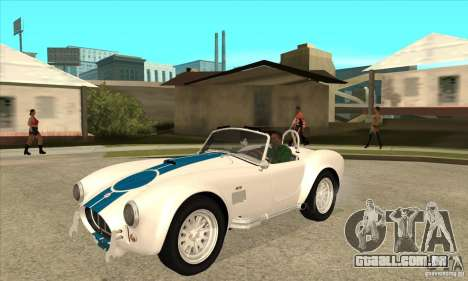 AC Shelby Cobra 427 1965 para GTA San Andreas