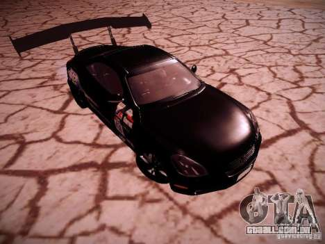 Lexus SC430 Daigo Saito para GTA San Andreas vista traseira