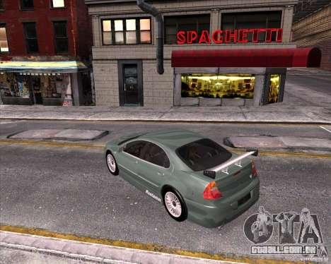 Chrysler 300M tuning para GTA San Andreas vista interior
