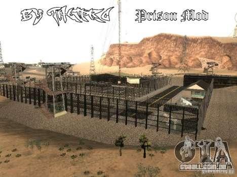 Prison Mod para GTA San Andreas