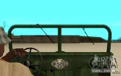 Gaz-67 para GTA San Andreas vista direita