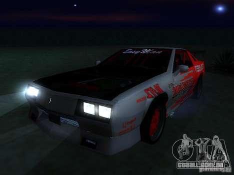 Buffalo DTM v2 para GTA San Andreas vista direita