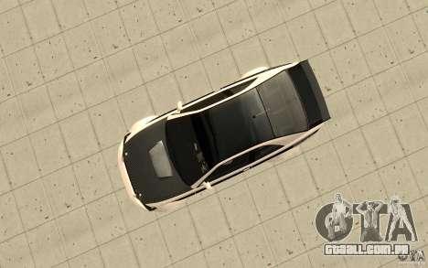 GTA IV Sultan RS FINAL para GTA San Andreas vista direita