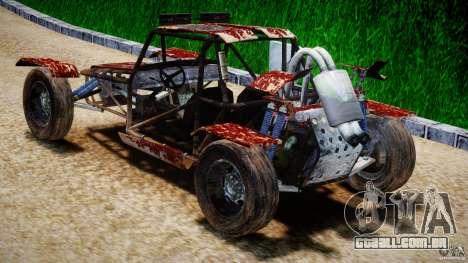 Buggy Avenger v1.2 para GTA 4 traseira esquerda vista