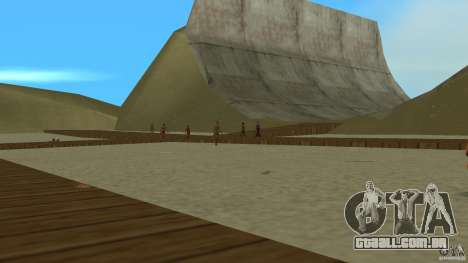 Vice City Beach-Park para GTA Vice City segunda tela