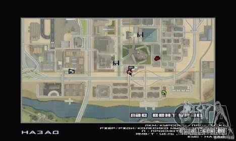 Estação de enchimento TNK para GTA San Andreas por diante tela