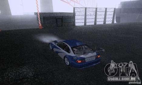 ENB Reflection Bump 2 Low Settings para GTA San Andreas nono tela