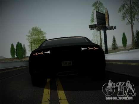 Lamborghini Estoque Concept 2008 para GTA San Andreas vista inferior