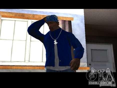 Piru Street Crips para GTA San Andreas terceira tela