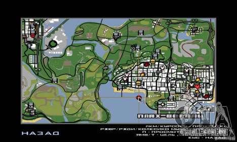 Welcome to AKINA Beta3 para GTA San Andreas sétima tela