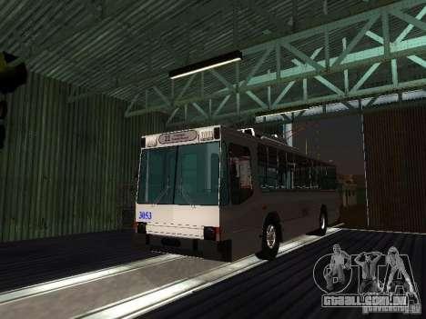 Yumz T2 para GTA San Andreas vista traseira