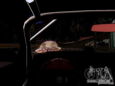 Nissan 240SX V2 para GTA San Andreas vista traseira