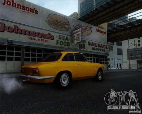 Alfa Romeo Giulia Sprint 1965 para GTA San Andreas vista direita