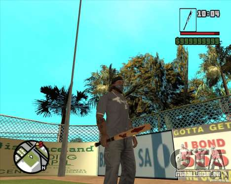 Pedaços sangrentos para GTA San Andreas terceira tela