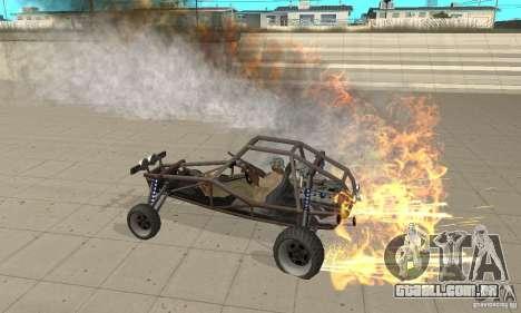 GTA FEATURE BURNOUT FIX 1.2 para GTA San Andreas segunda tela